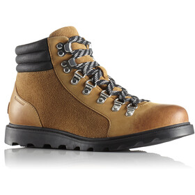 Sorel W's Ainsley Conquest Shoes Camel Brown/Black